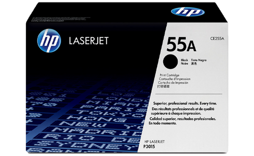 HP 55A Black Original Toner Cartridge | CE255A