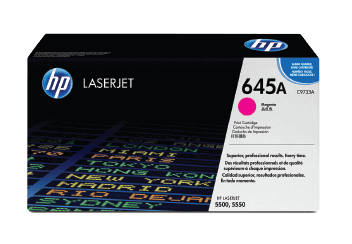 HP 645A Magenta Toner Cartridge | C9733A