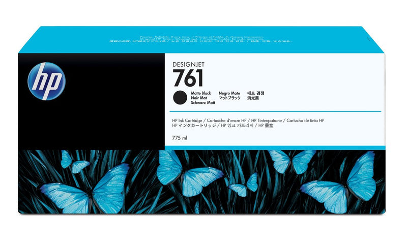 HP 761 775-ml Matte Black DesignJet Ink Cartridge | CM997A
