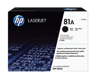 HP 81A Black Original Toner Cartridge | CF281A