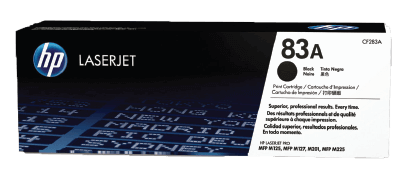 HP 83A Black Original Toner Cartridge | CF283A