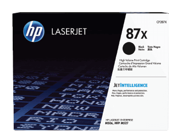 HP 87X High Yield Black Original LaserJet Toner Cartridge | CF287X