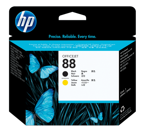 HP 88 Black and Yellow Original Printhead | C9381A