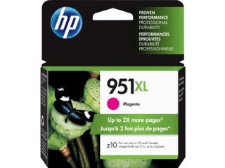 HP 951XL 24-ml Magenta Ink Cartridge | CN047AN