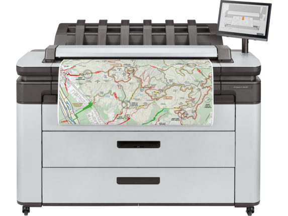 HP DesignJet XL 3600dr 36 Inch Multifunction Printer with PostScript | 6KD26A