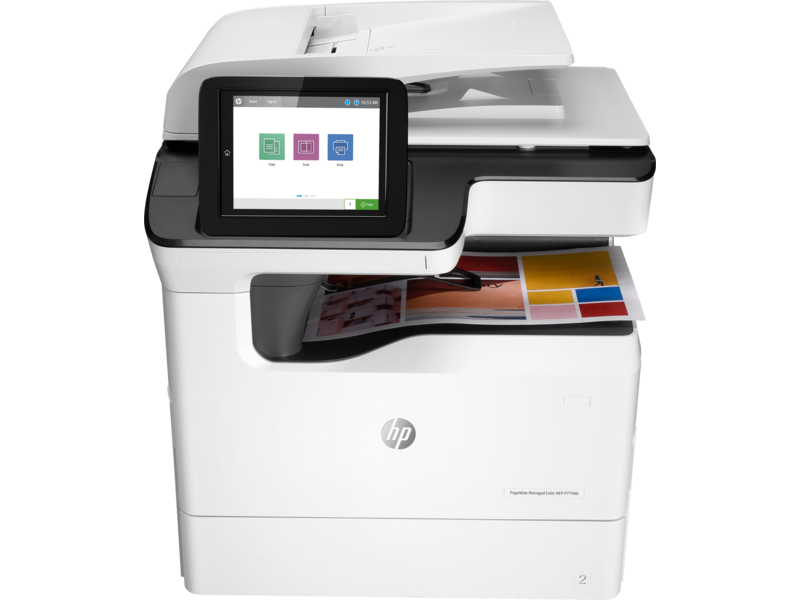 HP PageWide Managed Color MFP P779dns Base Printer | 2GP02A