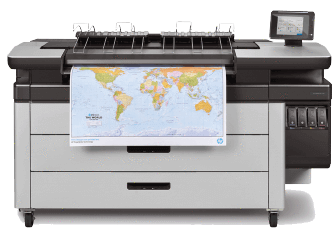 HP PageWide XL 4100 MFP w/ Top Stacker | J2V02A#B1K