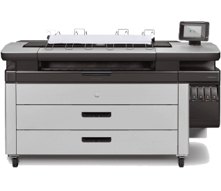 HP PageWide XL 4100 Printer w/ Top Stacker 2V01A