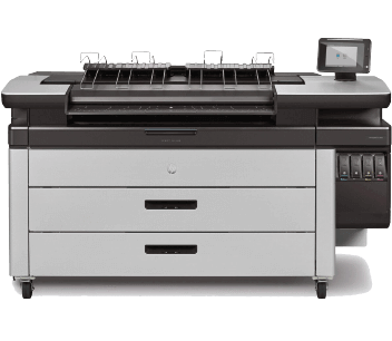HP PageWide XL 4600 MFP w/ Top Stacker | RS312A#B1K