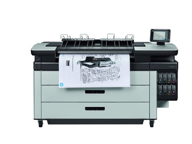Demo HP PageWide XL 5000 Print with Top Stacker | CZ310