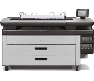 HP PageWide XL 5100 MFP w/ High Capacity Stacker | 2RQ08B#B1K