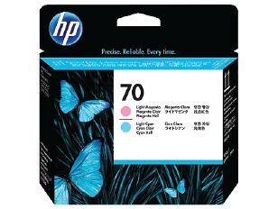 HP 70 Light Magenta and Light Cyan DesignJet Printhead | C9405A