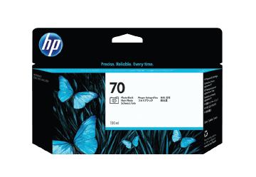 HP 70 130-ml Photo Black DesignJet Ink Cartridge | C9449A