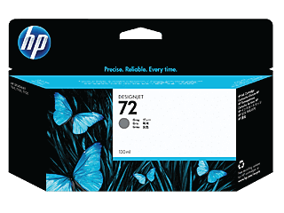 HP 72 130-ml Gray DesignJet Ink Cartridge | C9374A