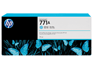 HP 771A 775ml Light Cyan Designjet Ink Cartridge | B6Y20A
