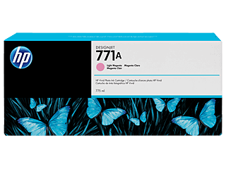 HP 771A 775ml Light Magenta Designjet Ink Cartridge | B6Y19A
