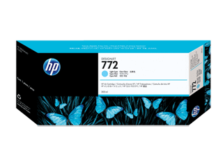HP 772 300-ml Light Cyan DesignJet Ink Cartridge | CN632A