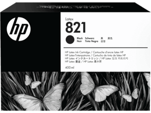 HP 821A  400-ML Black Latex ink Cartridge | G0Y89A