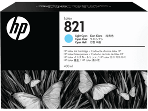 HP 821A  400-ML Light Cyan Latex ink Cartridge | G0Y90A