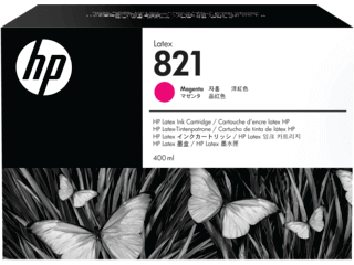 HP 821A  400-ML Magenta Latex ink Cartridge | G0Y87A