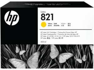 HP 821A  400-ML Yellow Latex ink Cartridge | G0Y88A