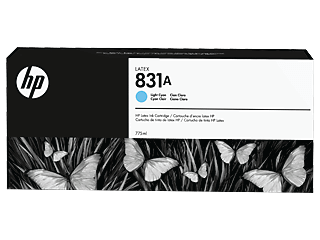 HP 831A  775-ML Light Cyan Latex ink Cartridge | CZ686A