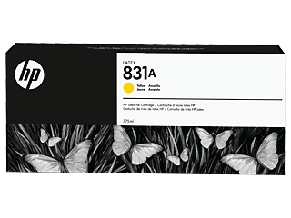 HP 831A  775-ML Yellow Latex ink Cartridge | CZ685A
