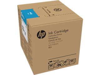 HP 871A 3-LITER Cyan Latex ink Cartridge | G0Y79D