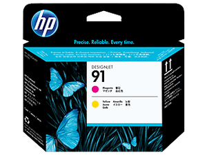 HP 91 Magenta and Yellow DesignJet Printhead | C9461A