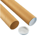 3 x 56 Mailing Tubes with End Caps (25) | S-6241