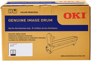 Oki C711 Black Image Drum | 44318504