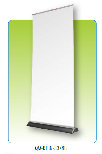 RETRACTABLE BANNER STAND 33X78