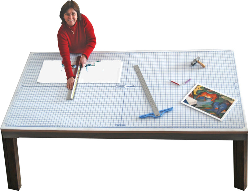 4 ft x 10 ft Rhino Cutting Mat with Grid