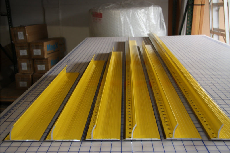 100 in Ultimate Steel Safety Ruler
