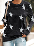 Women Printed Paneled Polyester Crew neck Street T-shirt