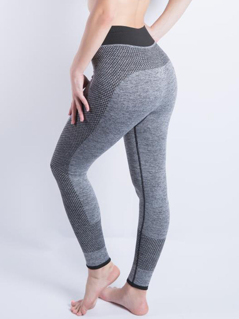 Women Solid Cotton-blend Sports Running Yoga Sweatpants