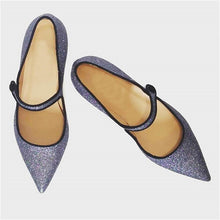 Load image into Gallery viewer, Women's Fashion Simple Pointed Toe Mary Jane Flats