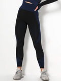Women Paneled Solid Spandex Casual Sweatpants