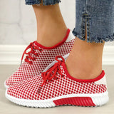 Women Casual  Hit Color Slip On  Platform Sneakers