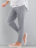 Women Solid Casual Pants