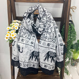 Women Beach Sunscreen Big Scarf