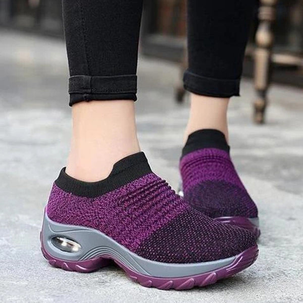 Women's Breathable Air Cusion Sneakers