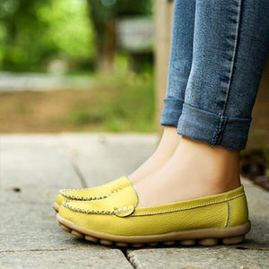 Women's Classic Easy to Match Casual Soft Bottom Loafers-shoeri