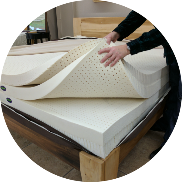 You to can sleep on a 100% certified organic mattress from Mountain Air Organic Beds.