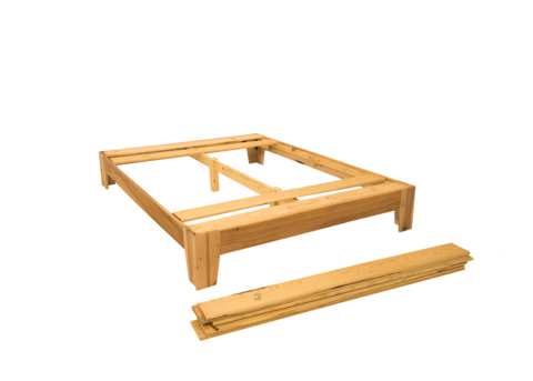 Platform Bed Assembly Slat Installation