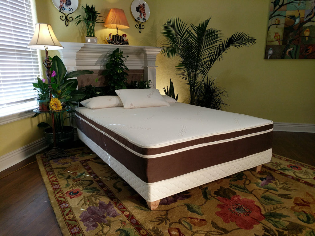 '- Organic Voyager 3-Layer Mattress layers can be easily moved around to make it firmer or softer on each side in Queen, King, and Cal-King sizes, providing you the ultimate in sleep-surface customization.