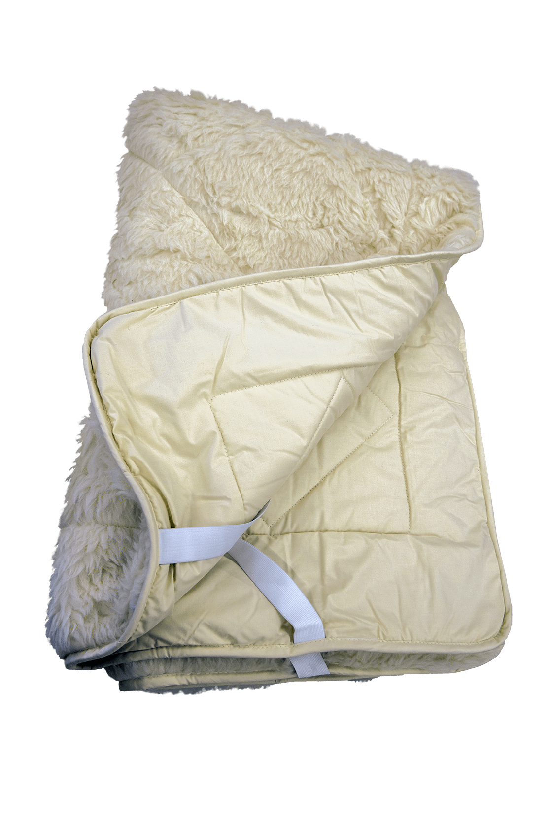Cool & Cozy fitted two-sided mattress pad with more comfort and softness so you can sleep like a baby.