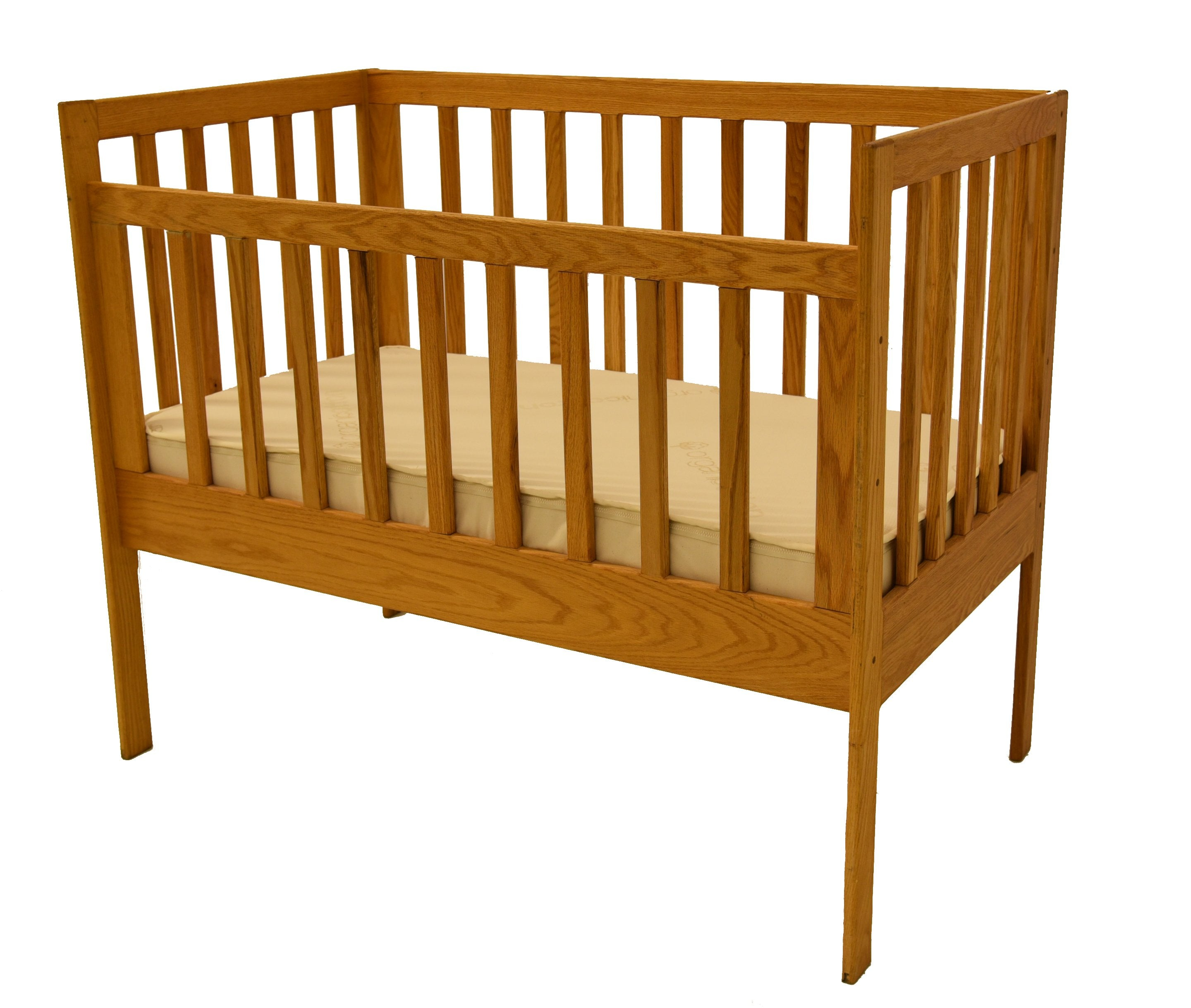 Your child is sleeping on Crib Mattress without toxic chemicals.