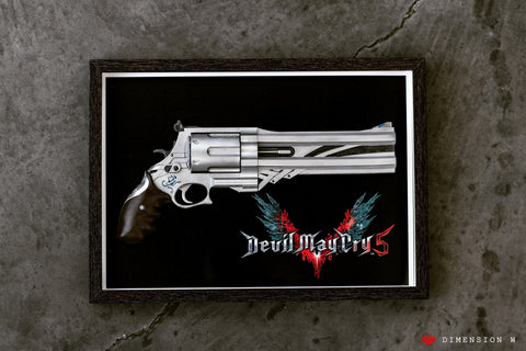 Blue Rose Revolver - Devil May Cry 5
