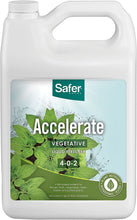 Load image into Gallery viewer, Safer® Brand Accelerate Liquid Fertilizer for Hydroponics-Gal